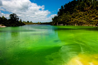 Lake Ngakoro, Wai-O-Tapu,  New Zealand